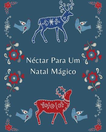 Rótulo de Natal com estilo escandinavo