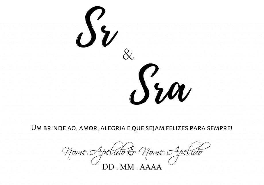 Rótulo de vinho personalizado para casamento